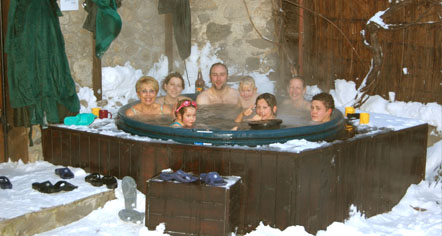 Soltir hot tub