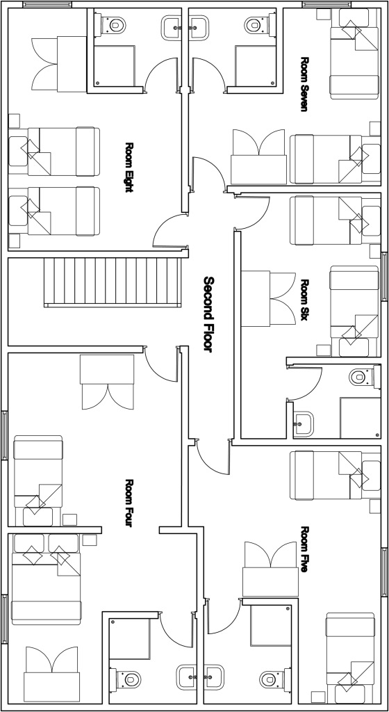 Chalet Mila - Second Floor Plan