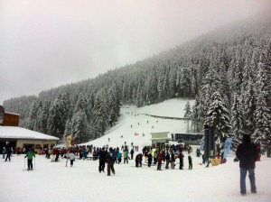 Bansko skiing