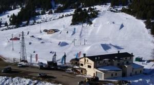 Peretol snowboard park